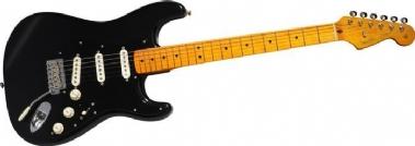Fender Custom Shop David Gilmour Signature Stratocaster NOS Akçaağaç Klavye Black Elektro Gitar