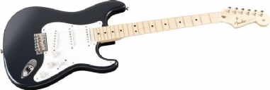Fender Custom Shop Eric Clapton Signature Stratocaster Akçaağaç Klavye Midnight Blue Elektro Gitar