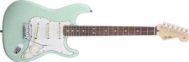 Fender Custom Shop Jeff Beck Signature Stratocaster Gülağacı Klavye Surf Green Elektro Gitar