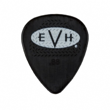 EVH Signature Picks 6 Pack Black/White .88 mm