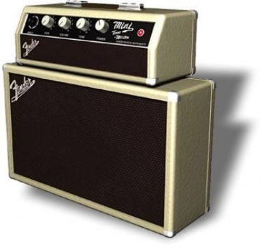 Fender Mini Amps - Mini Tonemaster - Head & Box Mini Amfiler