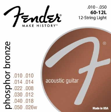 Fender Phosphor Bronze 60-12L 10-48