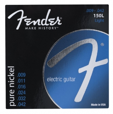 Fender Original 150 Guitar Strings Pure Nickel Wound Ball End 150L Gauges .009-.042 String Sets - Elektro Gitar Teli