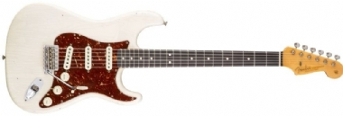 Fender Custom Shop Builder Select 1963 Stratocaster Rosewood Fingerboard Arctic White, Masterbuilt Yuriy Shishkov