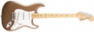 Fender Custom Shop Builder Select 1969 Stratocaster Maple Fingerboard Firemist Gold Metallic, Masterbuilt Greg Fessler Elektro G