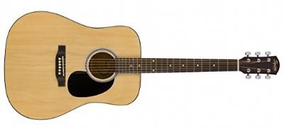 Squier SA-150 Dreadnought Natural Akustik Gitar