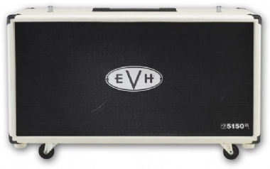 EVH 5150 III 2x12 Straight Cabinet Ivory