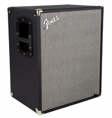 Fender Rumble 210 Cabinet BLK and SLV