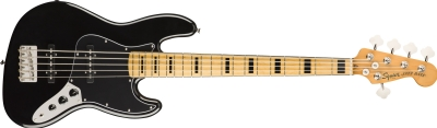 Squier Classic Vibe 70s Jazz Bass V MN BLK