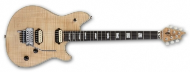 EVH Wolfgang USA EB 5A Flame Top NAT
