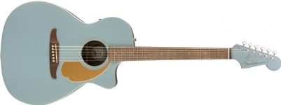 Newporter Player Walnut Fingerboard Ice Blue Satin