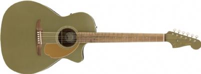 Newporter Player Walnut Fingerboard Olive Satin
