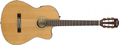 Fender CN-140SCE NYLON WN NAT