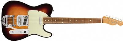 Fender Vintera '60s Telecaster Bigsby Pau Ferro Klavye 3-Color Sunburst