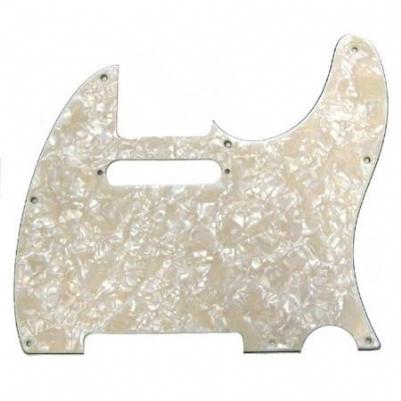 Fender Pickguard Tele 8 Hole 4-Ply Aged WMT
