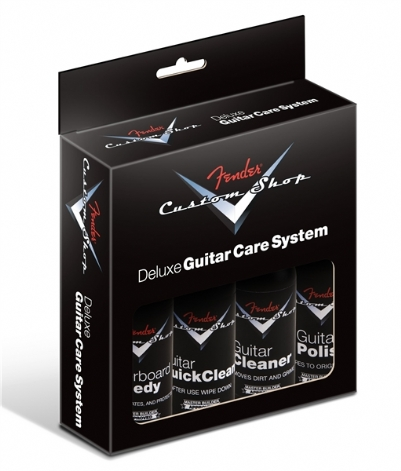 Fender CS Deluxe Guitar Care System