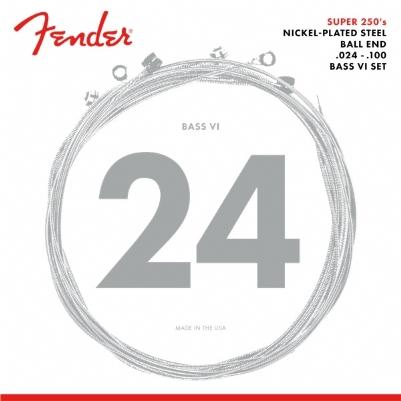 Fender Super 250's Bass VI 250B6 24-100