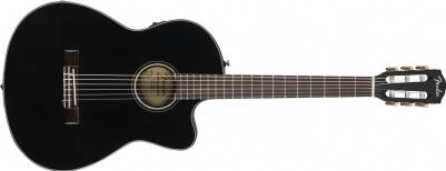 Fender CN-140SCE NYLON WN BLK