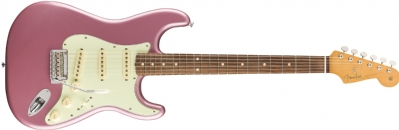 Fender Vintera '60s Stratocaster Modified Pau Ferro Klavye Burgundy Mist Metallic